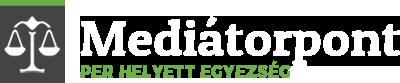 Mediátorpont logo